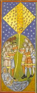 Hildegarde de Bingen - Dieu communique  le souffle de vie à l'embryon