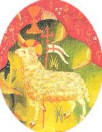 La Tapisserie d'Angers - L'ange et l'agneau de Dieu