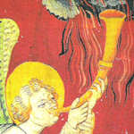 Deuxième trompette : le naufrage. Apocalypse VIII, 8-9